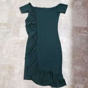 NWOT Ruffle Dress